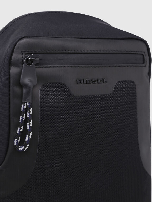 Diesel - SUSE MONO, Black - Backpacks - Image 4
