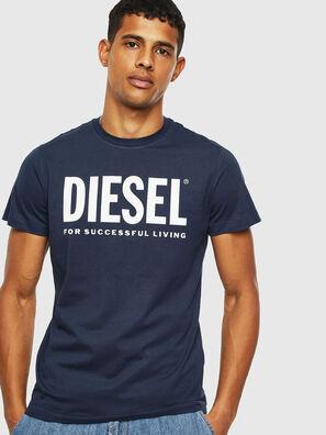 T-DIEGO-LOGO, Dark Blue - T-Shirts