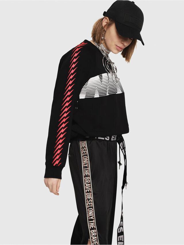 Diesel - F-ROXXY-D, Black - Sweaters - Image 3