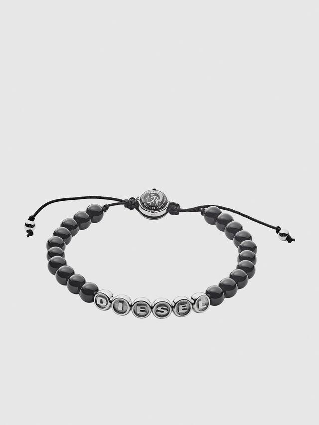 Diesel BRACELET DX1088, Black - Bracelets - Image 1