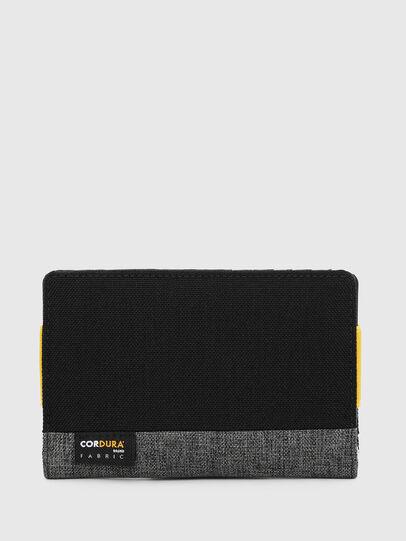 Diesel - ORGANIESEL, Black/Yellow - Small Wallets - Image 2