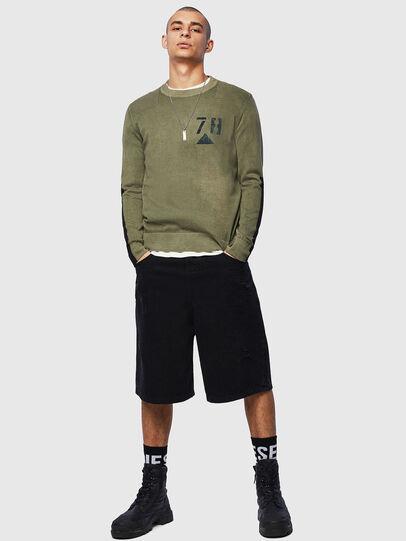 Diesel - K-PACHY, Military Green - Knitwear - Image 5
