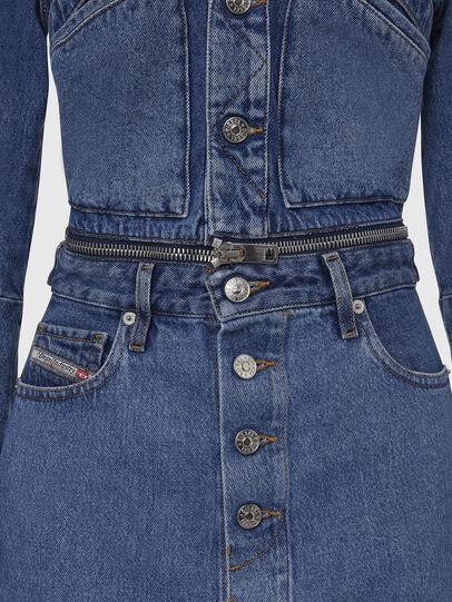 Diesel - DE-BLOCHY, Medium blue - Denim Jackets - Image 4