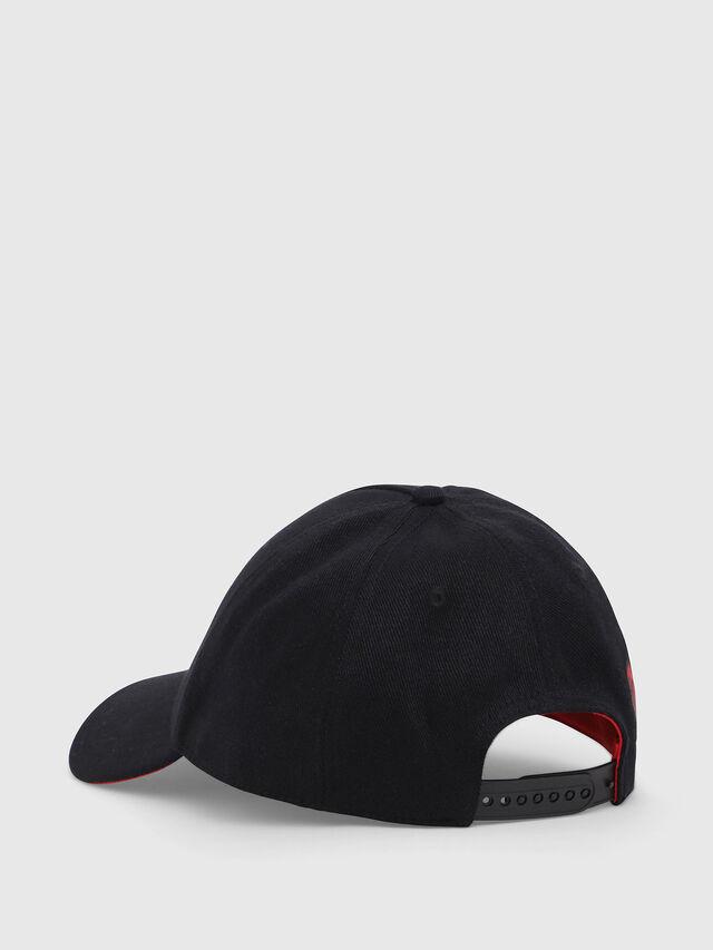 Diesel - DVL-CAPO-CAPSULE, Black/Red - Caps - Image 2