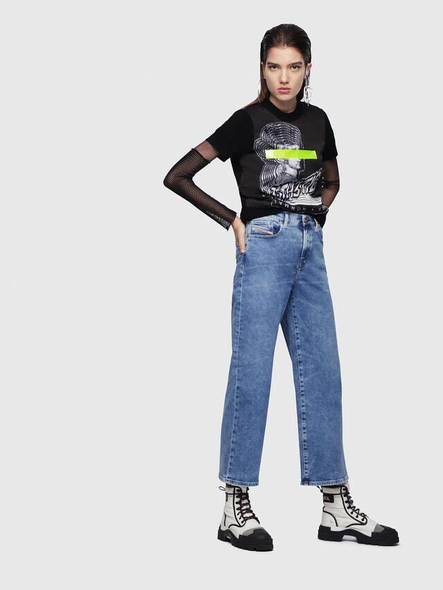 Diesel - Widee 087AR, Medium blue - Jeans - Image 4
