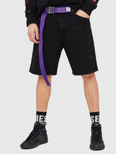 Diesel - D-WILLOH, Black/Dark grey - Shorts - Image 1
