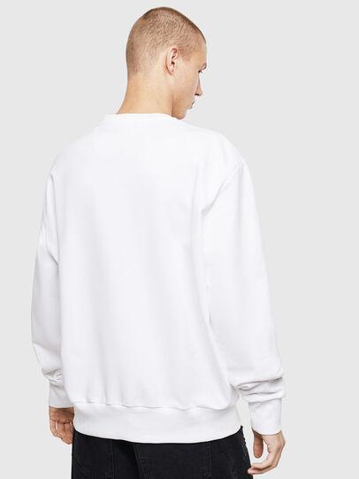 Diesel - S-BIAY-S1, White - Sweaters - Image 3