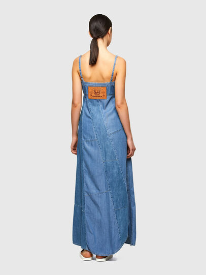 Diesel - DE-ARYA-SP, Medium blue - Dresses - Image 2