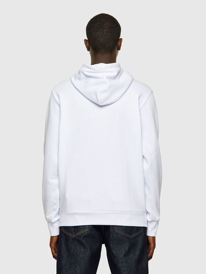 Diesel - S-GIRK-HOOD-LAB, White - Sweaters - Image 2