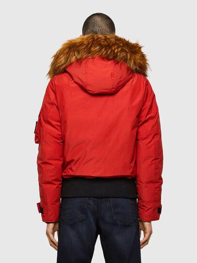 Diesel - W-JAME, Red - Winter Jackets - Image 2