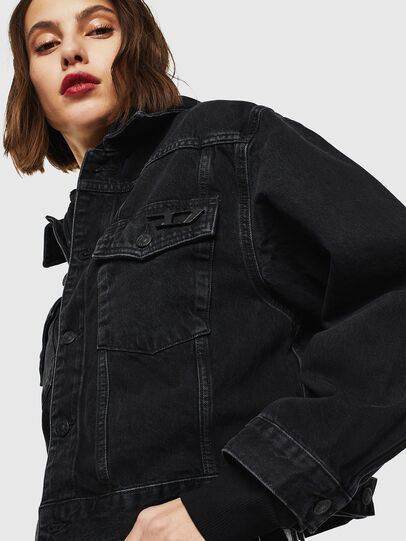 Diesel - DE-CATY, Black - Denim Jackets - Image 4