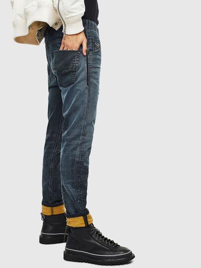 Diesel - Krooley JoggJeans 069MD, Dark Blue - Jeans - Image 6