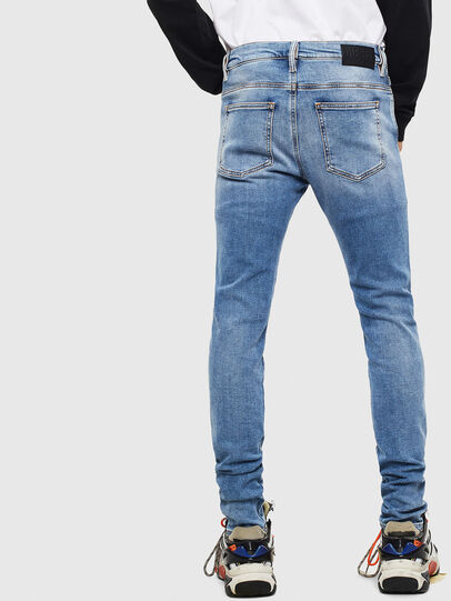 Diesel - D-Istort 009BG, Medium blue - Jeans - Image 2