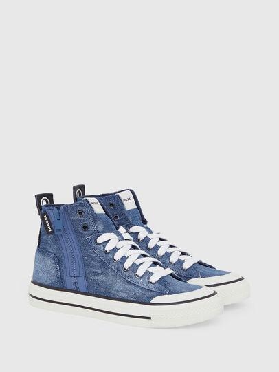 Diesel - S-ASTICO MID ZIP W, Blue Jeans - Sneakers - Image 2