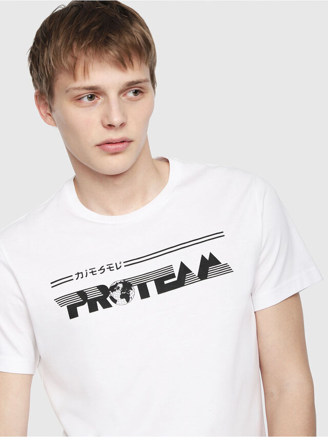 Diesel - T-DIEGO-YB, White - T-Shirts - Image 3