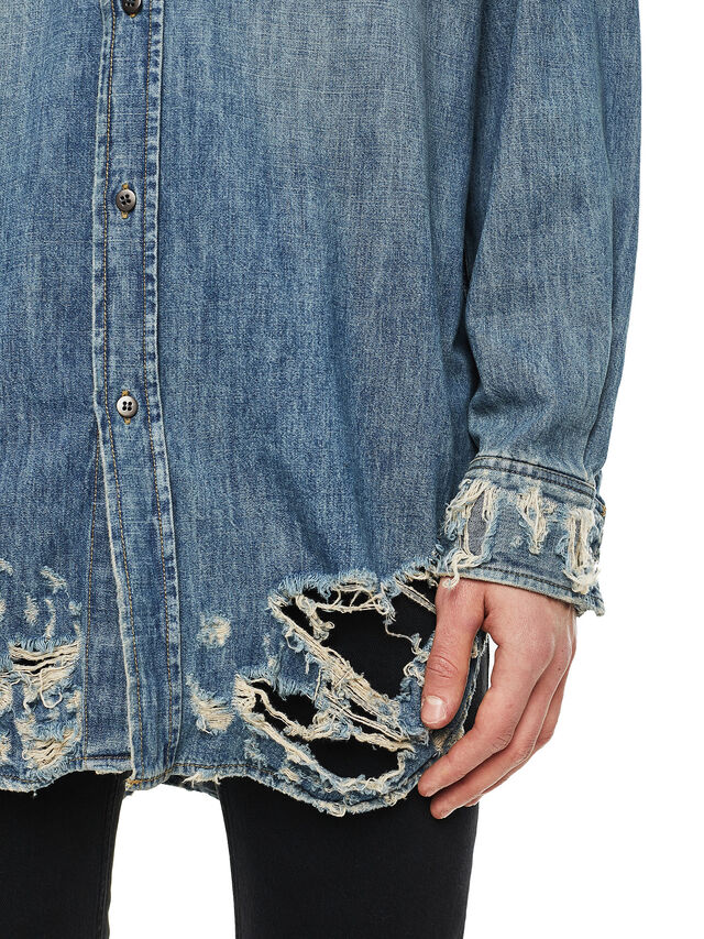 Diesel - SUVER-D, Blue Jeans - Shirts - Image 4
