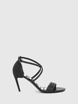 SA-SLANTY MXR, Black - Sandals