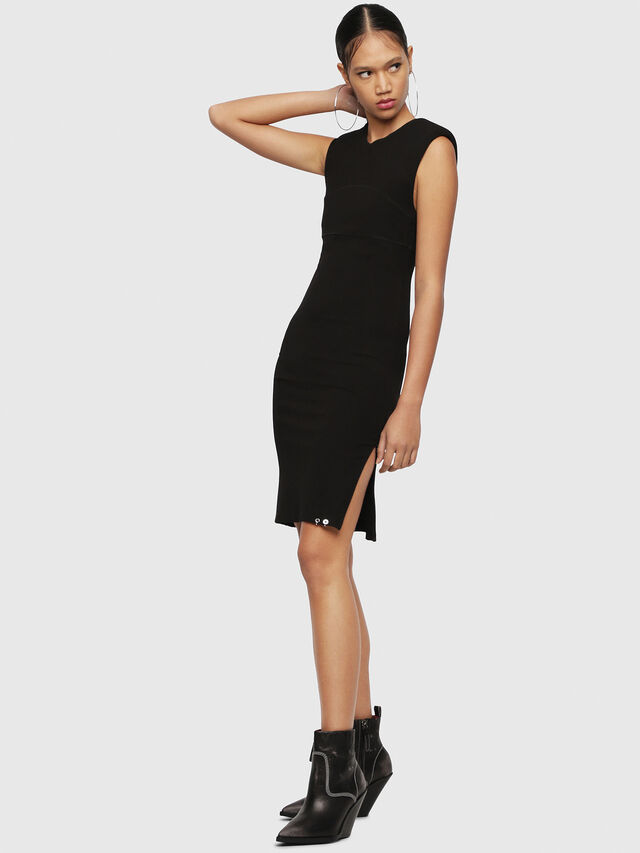 Diesel - D-STACIE-A, Black - Dresses - Image 1