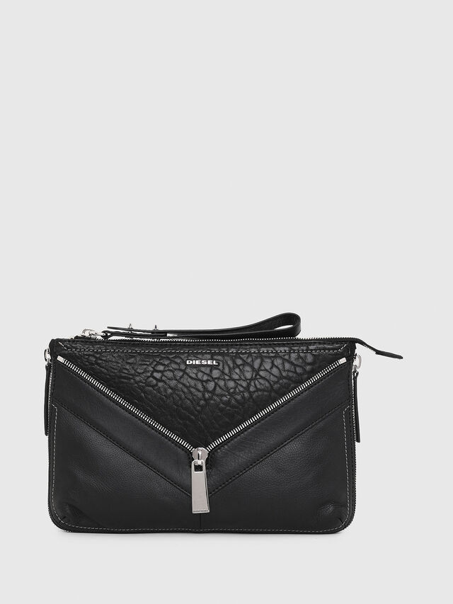 Diesel LE-LITTSYY, Black Leather - Clutches - Image 1
