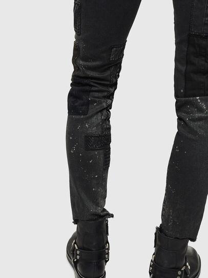Diesel - D-Strukt 0093P, Black/Dark grey - Jeans - Image 8