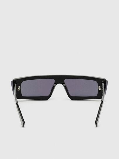 Diesel - DL0318, Black/Blue - Sunglasses - Image 4