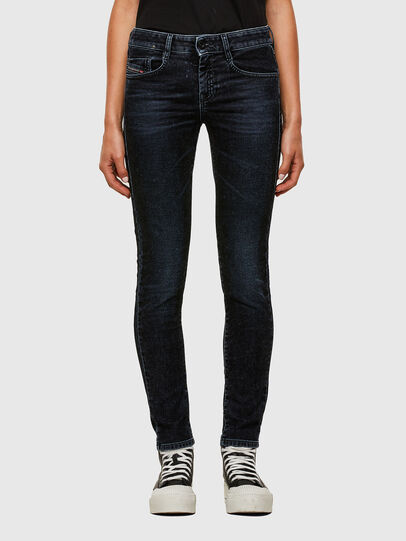 Diesel - D-Ollies JoggJeans® 069UH, Black/Dark grey - Jeans - Image 1