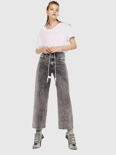 Diesel - Widee 069EB, Black/Grey - Jeans - Image 5