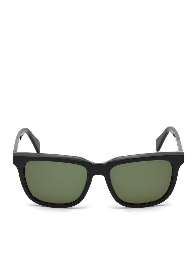 Diesel - DL0224, Green - Sunglasses - Image 1