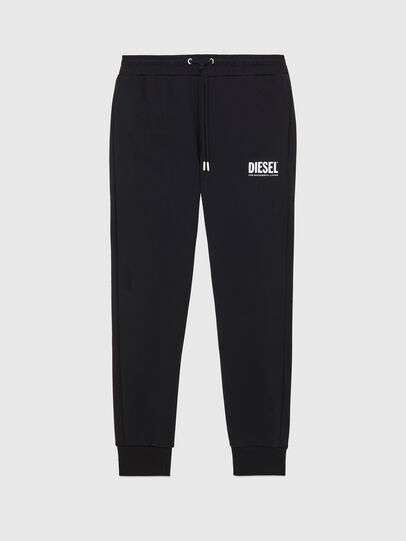 Diesel - P-TARY-LOGO, Black - Pants - Image 1