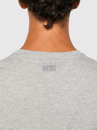 Diesel - T-DIEGOS-N28, Grey - T-Shirts - Image 4
