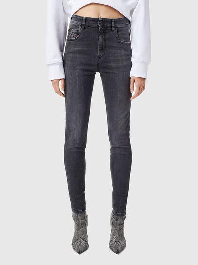 Diesel - Slandy High 069XP, Black/Dark grey - Jeans - Image 1