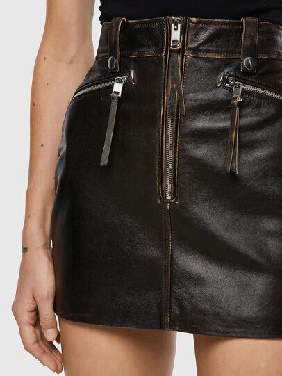 Diesel - L-EMILIA, Black - Skirts - Image 3