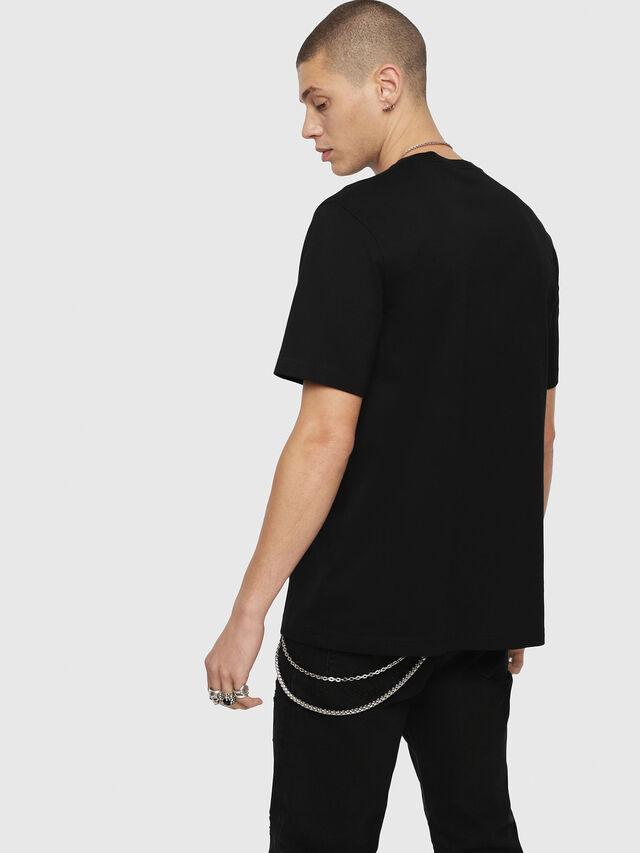 Diesel - T-JUST-YL, Black - T-Shirts - Image 2