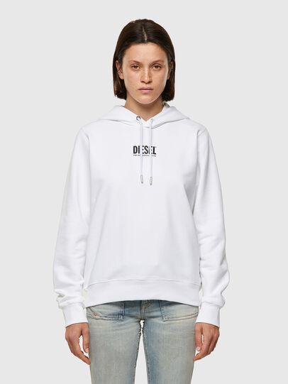 Diesel - F-ANGS-H-ECOSMALLOGO, Black/White - Sweaters - Image 1