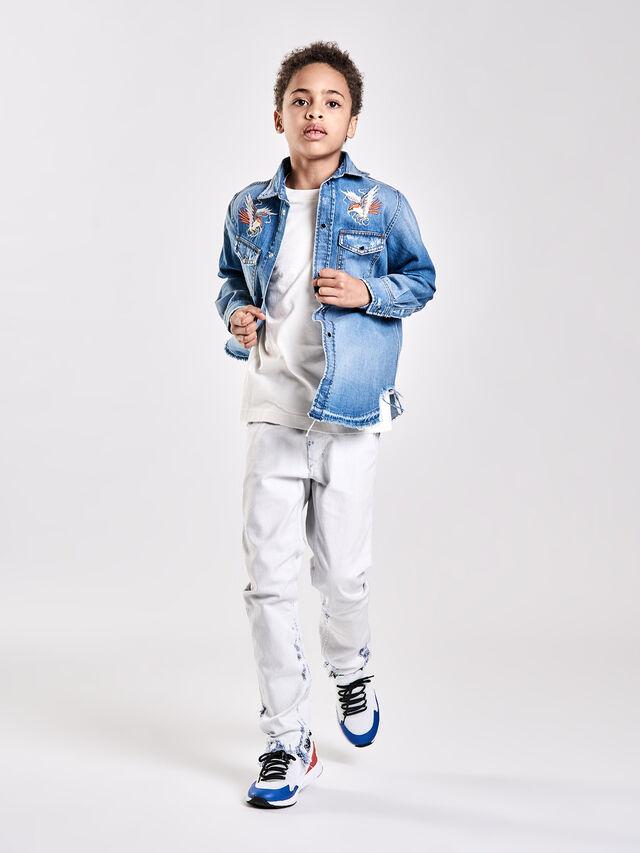 Diesel - TEPPHAR-J-N, White Jeans - Jeans - Image 4