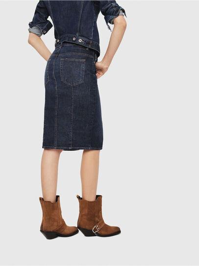 Diesel - DE-PENCIL, Blue - Skirts - Image 2