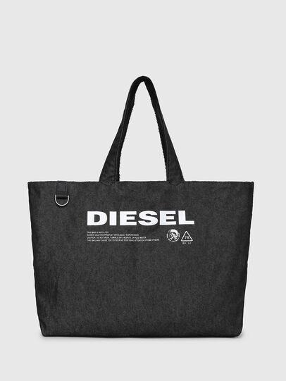 Diesel - D-THISBAG SHOPPER L, Black - Shopping and Shoulder Bags - Image 6