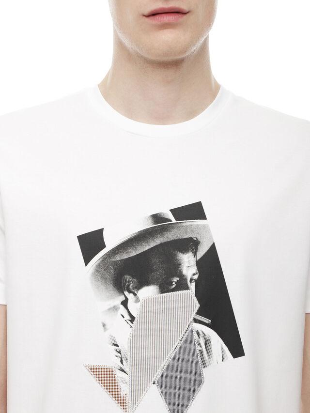 Diesel - TY-PEZZABOY1, White - T-Shirts - Image 4