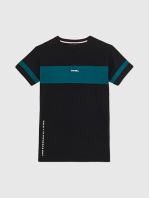 UFTEE-CHEERLY, Black/Blue - T-Shirts