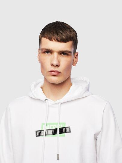 Diesel - S-GIRK-HOOD-S1, White - Sweaters - Image 5