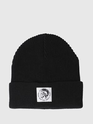 K-CODER, Black - Knit caps