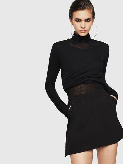 Diesel - ONAT, Black - Skirts - Image 1