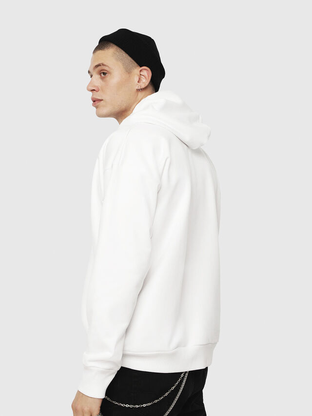 Diesel - S-DIVISION, White - Sweaters - Image 2