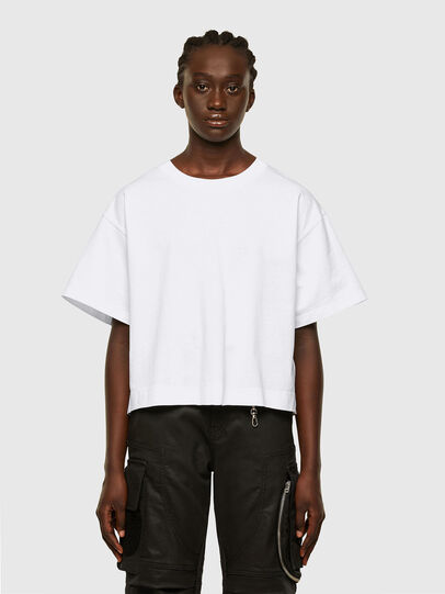 Diesel - T-BOWLESS, White - T-Shirts - Image 1