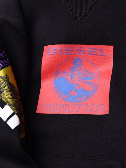 Diesel - SJACKXA OVER, Black - Sweaters - Image 3