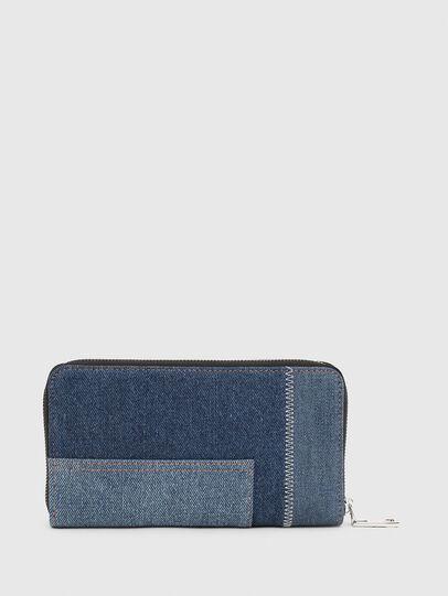 Diesel - GRANATO LC, Blue Jeans - Zip-Round Wallets - Image 2