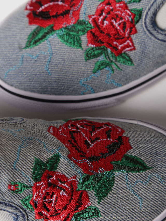 Diesel - SLIP ON 14 ROSE CH, Grey - Footwear - Image 4
