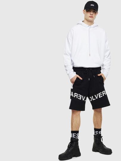 Diesel - P-SHAM, Black/White - Shorts - Image 5
