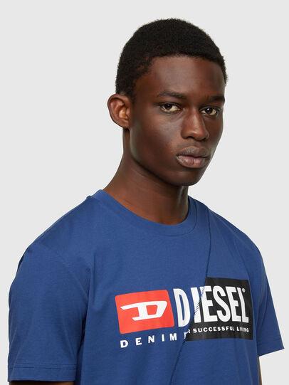 Diesel - T-DIEGO-CUTY, Blue - T-Shirts - Image 3