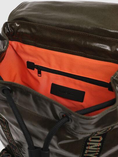 Diesel - MARBACK, Olive Green - Backpacks - Image 4